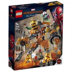 MOLTEN MAN BATTLE SPIDER-MAN FAR FROM HOME LEGO BOX FIGURE 76128