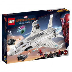 STARK JET AND THE DRONE ATTACK SPIDER-MAN FAR FROM HOME LEGO BOX FIGURE 76130
