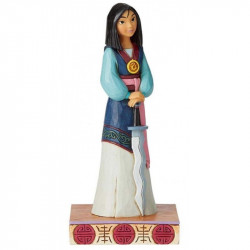 WINSOME WARRIOR MULAN DISNEY TRADITIONS STATUE