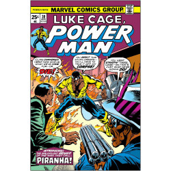 TRUE BELIEVERS LUKE CAGE POWER MAN PIRANHA
