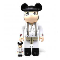 CLOCKWORK ORANGE ALEX 100% & 400% BEARBRICK 2PK