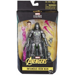 INFAMOUS IRON MAN AVENGERS MARVEL LEGENDS ACTION FIGURE