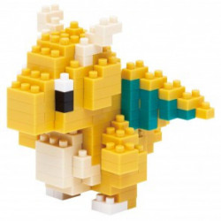 DRAGONITE DRACOLOSSE NANOBLOCK POKEMON BUILDING BLOCK SET