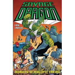 SAVAGE DRAGON MERGING OF MULTIPLE EARTHS TP