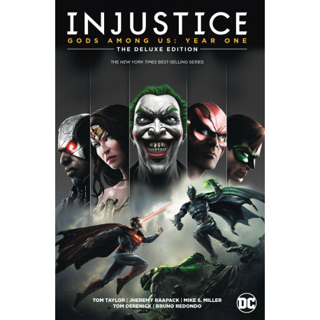 INJUSTICE GODS AMONG US YEAR ONE DELUXE ED HC BOOK 1