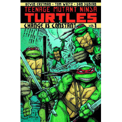TMNT ONGOING TP VOL 1 CHANGE IS CONSTANT