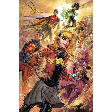 YOUNG JUSTICE CARD STOCK VAR ED