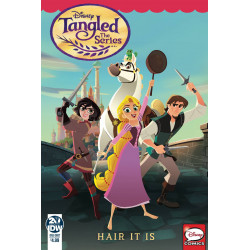 TANGLED THE SERIES HAIR IT IS CVR A PETROVICH
