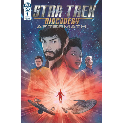 STAR TREK DISCOVERY AFTERMATH 1 CVR A HERNANDEZ