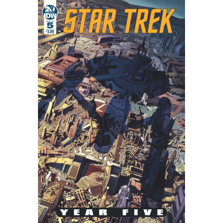 STAR TREK YEAR FIVE 5 CVR A THOMPSON