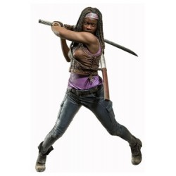 THE WALKING DEAD MICHONNE DELUXE ACTION FIGURE