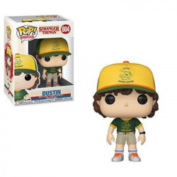 DUSTIN AT CAMP STRANGER THINGS FUNKO POP! TV VINYL FIGURINE