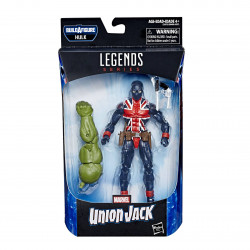 UNION JACK AVENGERS ENDGAME MARVEL LEGENDS ACTION FIGURE