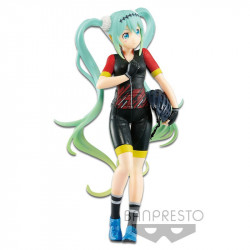 HATSUNE MIKU TEAM UKYO RACING 2018 EXQ PVC FIGURE