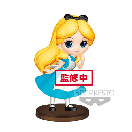 ALICE DISNEY Q POSKET PETIT GIRLS FIGURE