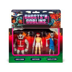 GHOSTS 'N GOBLINS PACK 3 FIGURINES REACTION PACK B 10 CM