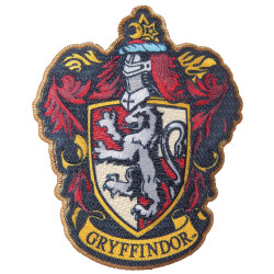 GRYFFINDOR HARRY POTTER IRON-ON PATCH