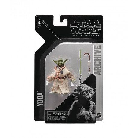 YODA STAR WARS BLACK SERIES ARCHIVE 6INCH EPISODE 5 ACTION FIGURE