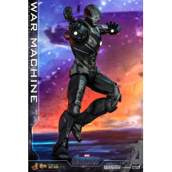 WAR MACHINE MOVIE MASTERPIECE DIECAST AVENGERS ENDGAME ACTION FIGURE