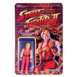 KEN STREET FIGHTER II REACTION WAVE 1 FIGURINE 10 CM