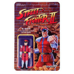 M.BISON STREET FIGHTER II REACTION WAVE 1 FIGURINE 10 CM