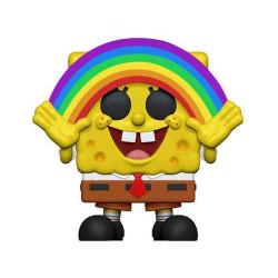 BOB L EPONGE FUNKO POP! VINYL FIGURINE SPONGEBOB RAINBOW 9 CM