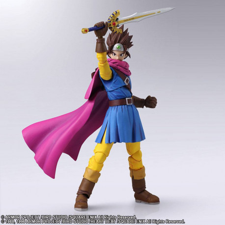 HERO DRAGON QUEST III THE SEEDS OF SALVATION BRING ARTS ACTION FIGURE