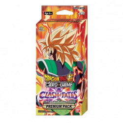 DRAGON BALL SUPER - PREMIUM PACK THEME BOOSTERS CLASH OF FATES VERSION FRANCAISE