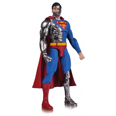 CYBORG SUPERMAN DC COMICS ESSENTIALS ACTION FIGURE