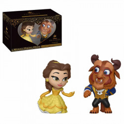 BEAUTY AND THE BEAST DISNEY COUPLE 2 PACK VYNIL FIGURE