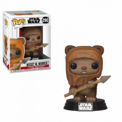 WICKET W WARRICK WARS STAR WARS FUNKO POP! VYNIL FIGURE