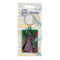 THE JOKER DC COMICS METAL KEYRING