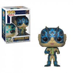AMPHIBIAN MAN WITH CARD THE SHAPE OF WATER POP! MOVIES VYNIL FIGURE