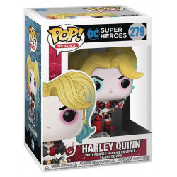 HARLEY QUINN WITH BOOMBOX DC COMICS POP! HEROES VYNIL FIGURE