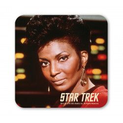 STAR TREK UHURA PORTRAIT GUN COASTER