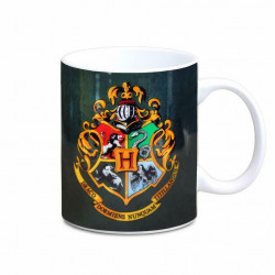 HOGWARTS LOGO HARRY POTTER BOXED MUG