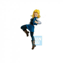 ANDROID C18 DRAGONBALL Z STATUETTE PVC THE ANDROID BATTLE