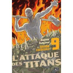 L'ATTAQUE DES TITANS - EDITION COLOSSALE T09