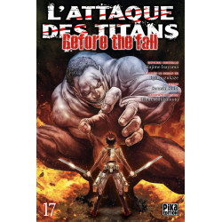 L'ATTAQUE DES TITANS - BEFORE THE FALL T17