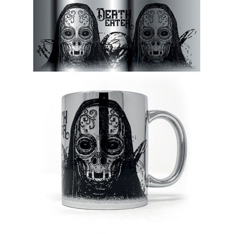 DEATH EATER HARRY POTTER MUG METALLIC