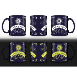 LUMOS HARRY POTTER MUG GLOW IN THE DARK