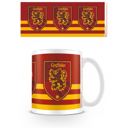 GRYFFINDOR STRIPE HARRY POTTER MUG