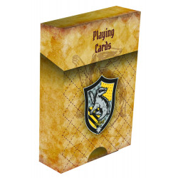 HUFFLEPUFF HARRY POTTER HOUSE PLAYING CARDS