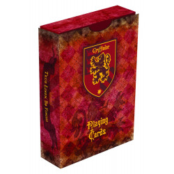 GRYFFINDOR HARRY POTTER HOUSE PLAYING CARDS