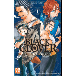 BLACK CLOVER - QUARTET KNIGHTS T01