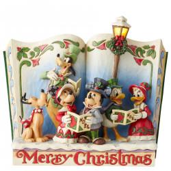 MICKEY MERRY CHRISTMAS DISNEY STATUE