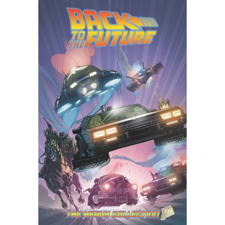 BACK TO THE FUTURE THE HEAVY COLL TP VOL 2