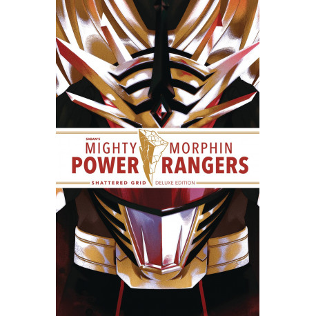 MIGHTY MORPHIN POWER RANGERS DLX HC SHATTERED GRID