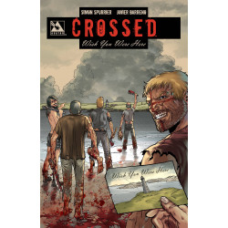 CROSSED WISH YOU WERE HERE SIGNED HC VOL 1