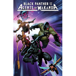 BLACK PANTHER AND AGENTS OF WAKANDA 1